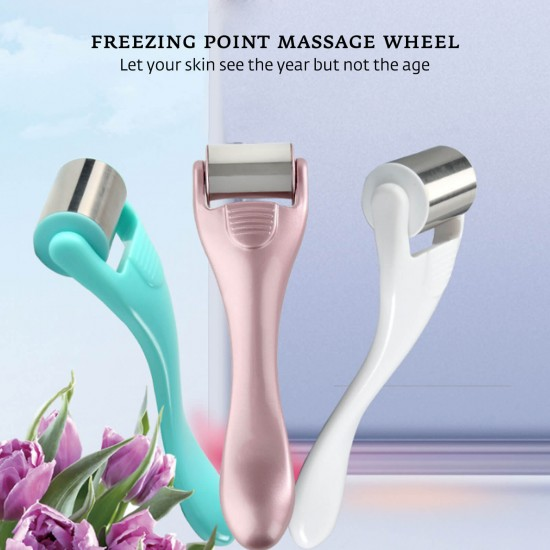 Beauty Instrument Stainless Steel Ice Roller Massager Accessory - White