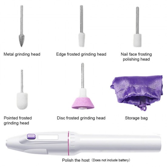 Manicure Tools with 5 Interchangeable Accessories